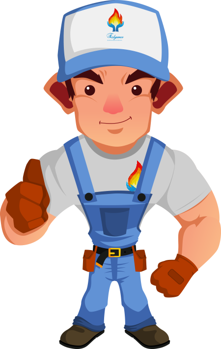 Plumber Graphic Andy Elegance Plumbing and Heating