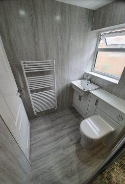 fitted bathroom Cheshire